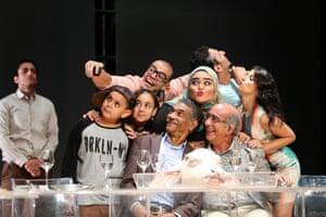 The cast of Ahmed El Attar's The Last Supper
