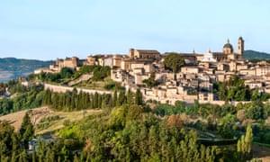 Medieval Urbino.