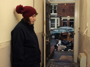 """Alison Allan standing in her hallway: 'We will never be able to sell our home now. Who would want to buy a house that is prone to flooding?"""""""