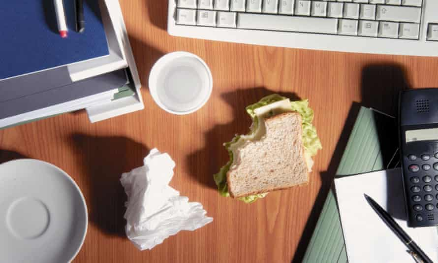 'All of these lunch-based innovations lead me to the rather terrifying conclusion that we may now be living in the golden age of office lunches.'