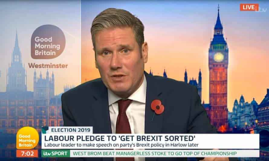 Keir Starmer's interview on Good Morning Britain, which Piers Morgan said had been 'doctored' by the Tory party.