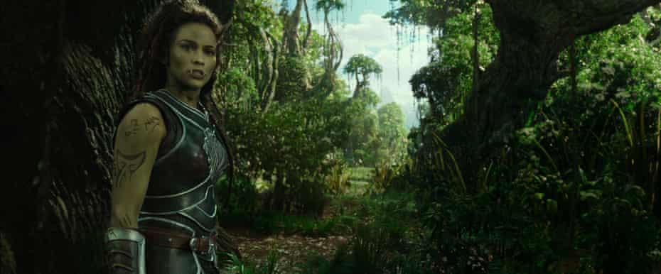 Paula Patton plays the warrior Garona Halforcen in Warcraft: The Beginning.
