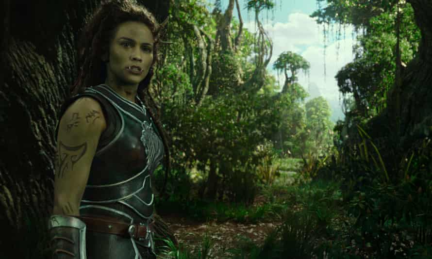 Paula Patton takes on another colourful role in Warcraft.