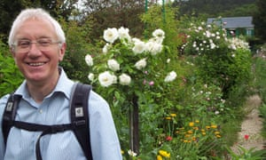 John King would cycle to his allotment to harvest vegetables for the People's Kitchen, a support centre for the homeless