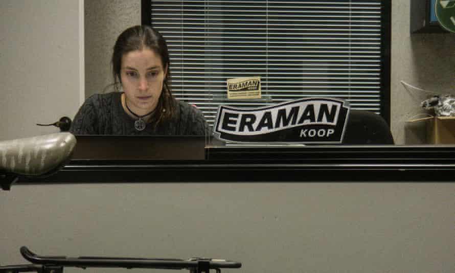 Cristina Gonzelez working for Eraman