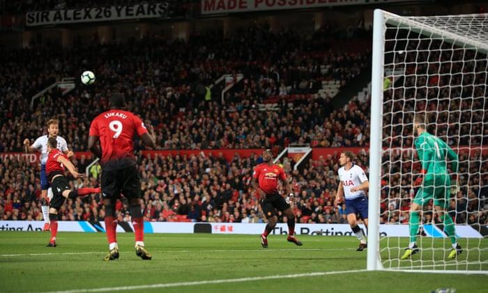 Manchester United 0-3 Tottenham Hotspur  Premier League – as it happened  308edce5e
