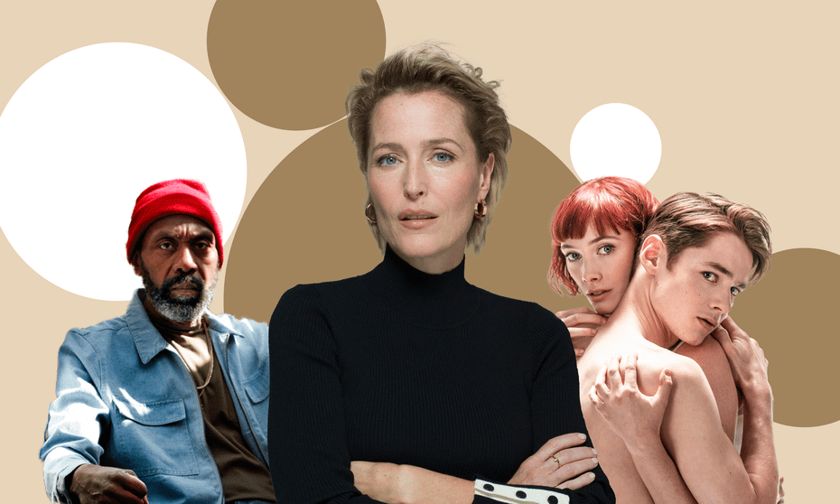 From left, Lenny Henry in King Hedley II; Gillian Anderson in All About Eve; Romeo and Juliet