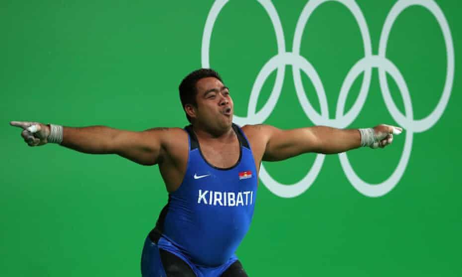 David Katoatau of Kiribati