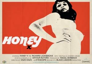 Honey. Series of fictional cinema posters 2015