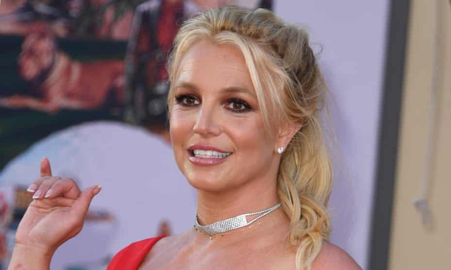 Britney Spears arrives for the premiere of Once Upon a Time in Hollywood in 2019.