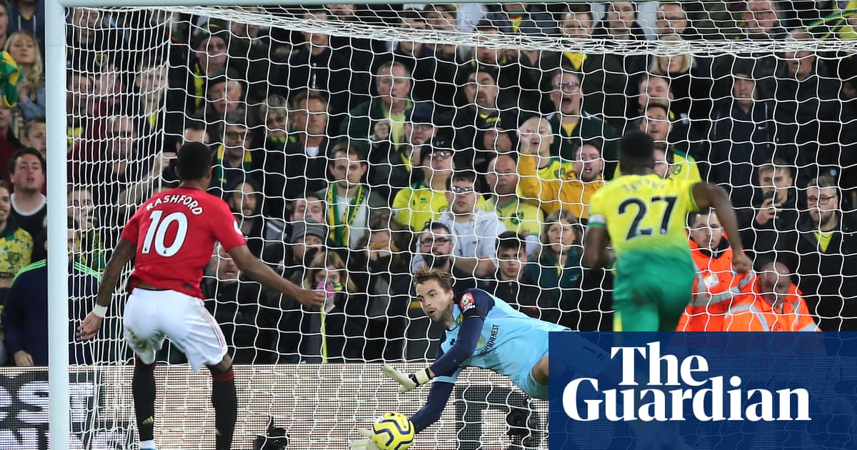 Manchester United's penalty takers suffer a Krul twist of fate | Paul MacInnes