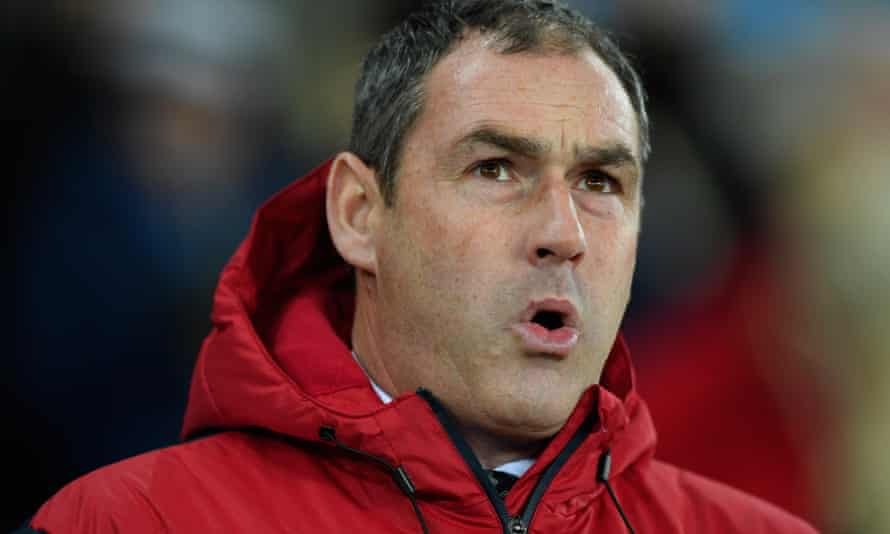 Paul Clement, who has been sacked by Swansea City.