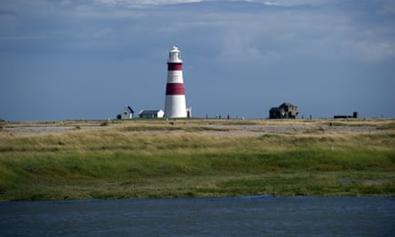 The lighthouse at Orford Ness