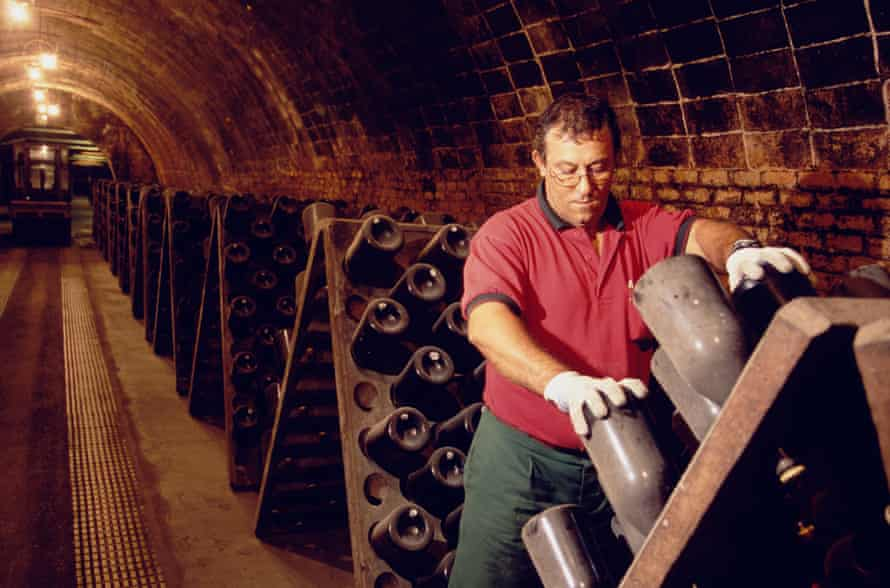 Cava is made in the same way as champagne