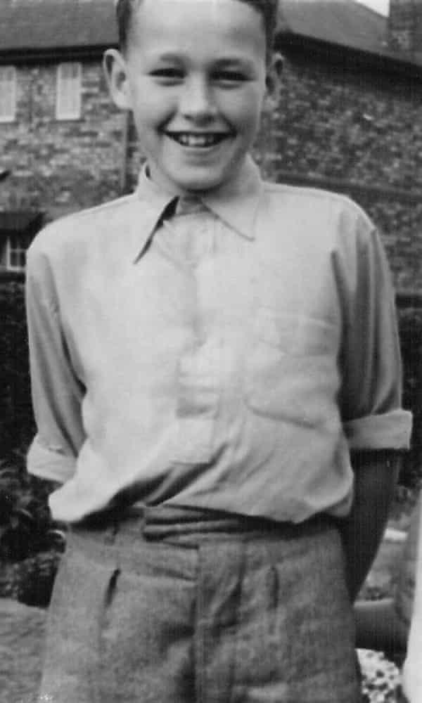 Ken Ashton aged nine.