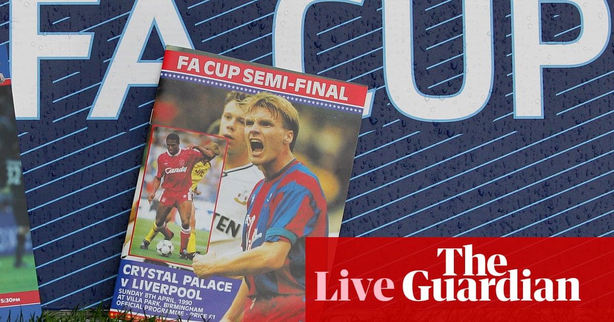 Crystal Palace v Liverpool: 1990 FA Cup semi-final – live!