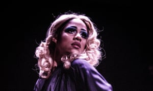 Speaking out: Zawe Ashton in The Maids.