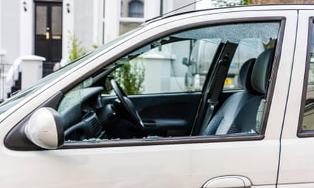 Why be penalised if a car window is smashed and you pay for the repair yourself?