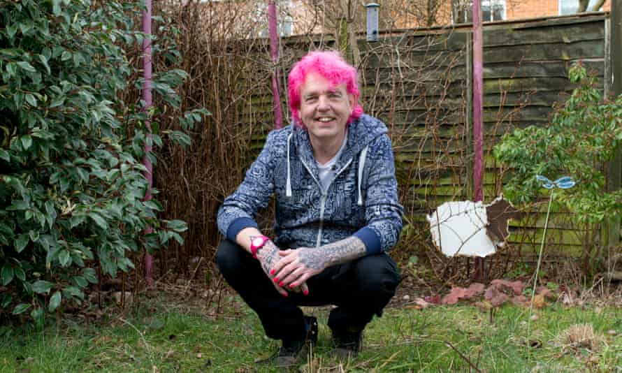 Floral fireworks … Alan Gardner, who appeared in Channel 4's The Autistic Gardener.
