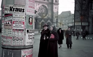 Charlottenburg, street scene in Berlin, 1940