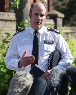 Commander Stuart Cundy.