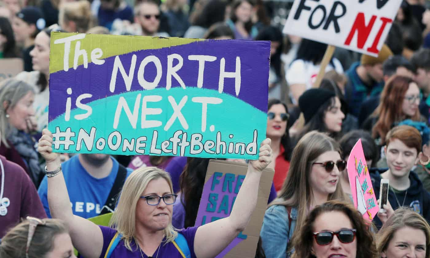 Pro-choice groups raise concerns over possible delays of Northern Ireland abortion law