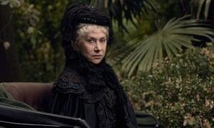 Helen Mirren in Winchester.