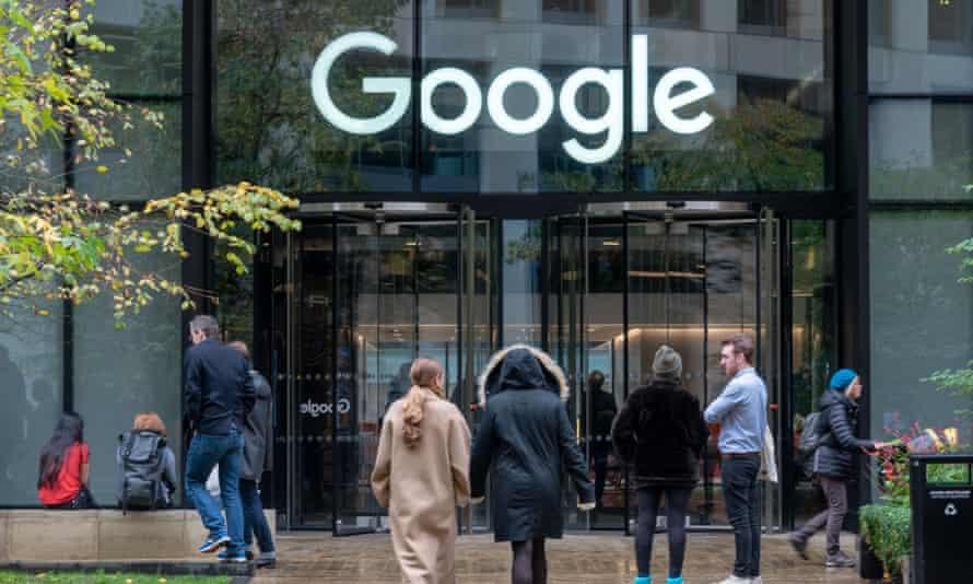 Google office in King's Cross.