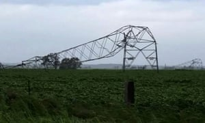 South Australian transmission tower toppled by high winds
