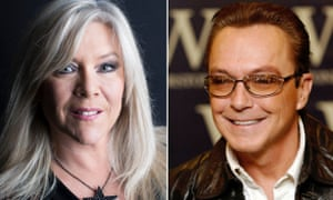 Samantha Fox and David Cassidy