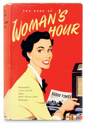 The cover of  Book of Woman's Hour  Edited by Joanna Scott-Moncrieff.