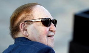 Sheldon Adelson is believed to like Marco Rubio, who was endorse by the billionaire's Nevada newspaper, although his wife is thought to favour Ted Cruz for the Republican nomination.
