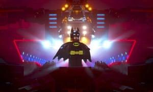 Lego figure Batman, from the Lego film
