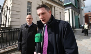 Pat Finucane's son and brother