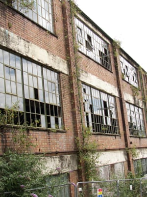 The city has changed beyond all recognition': Derelict