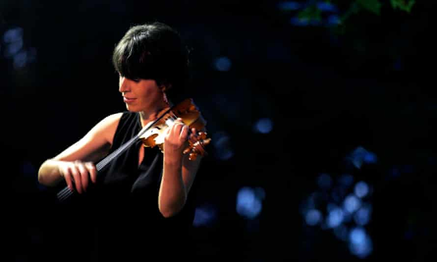 French violinist Amandine Beyer.
