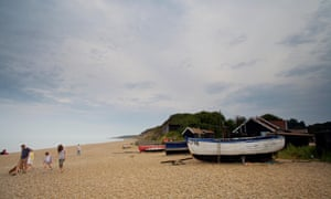 Dunwich beach, Suffolk, England