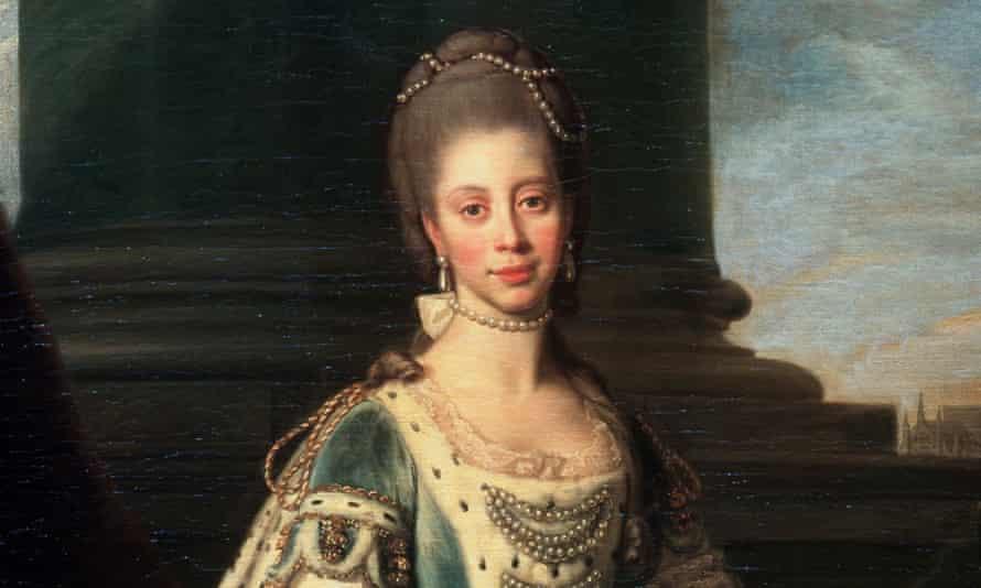 Portrait of Charlotte of Mecklenburg-Strelitz