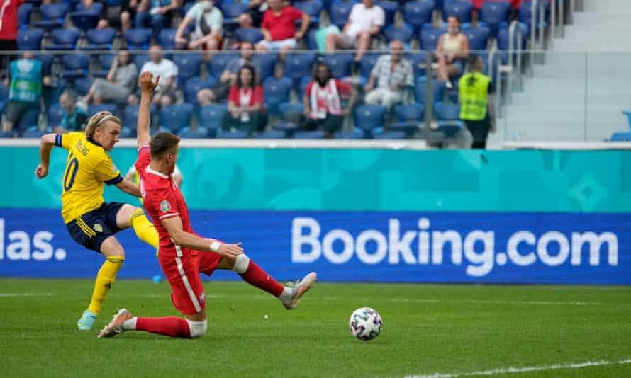 Emil Forsberg struck twice for Sweden.