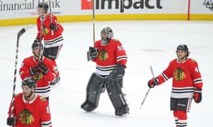 Chicago Blackhawks Play 36 Year Old Accountant As Emergency Goalie