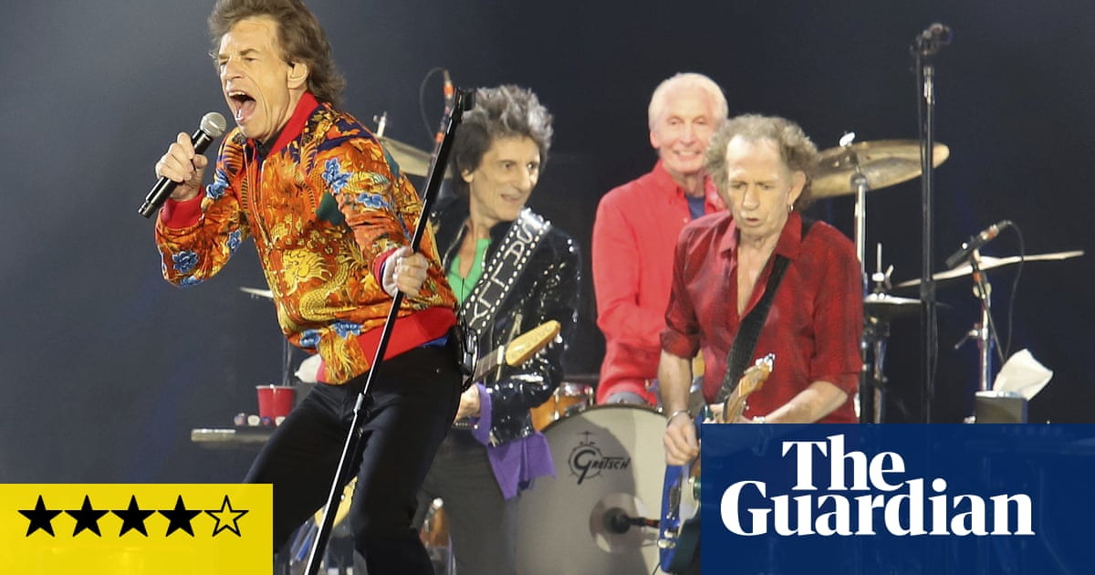 Rolling Stones review – swaggering into their second childhood