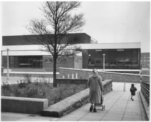 'The biggest library to be built since the war by Lancashire County Council' — new county library at Kirkby, near Liverpool, March 1964GNM Archive ref: GUA/6/9/1/4/L box 7