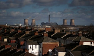 Fiddlers Ferry coal-fired power station in Widnes, northern England. Pollution from coal plants alone costs the UK as much as £3.1bn each year in human health impacts.
