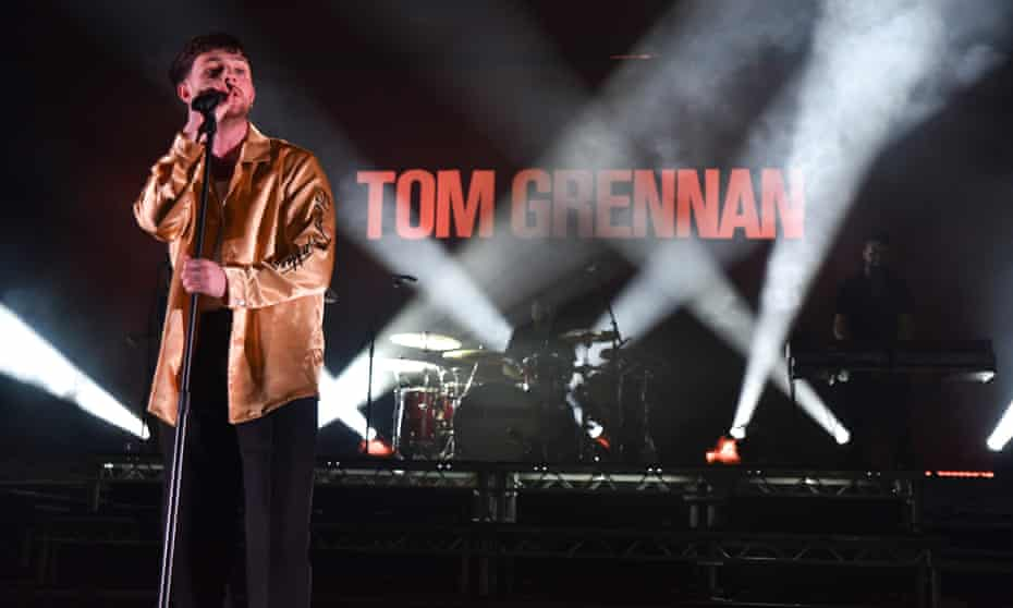 Tom Grennan performs at O2 Academy Brixton in 2018