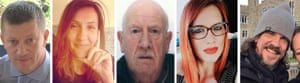 Victims of Westminster attack