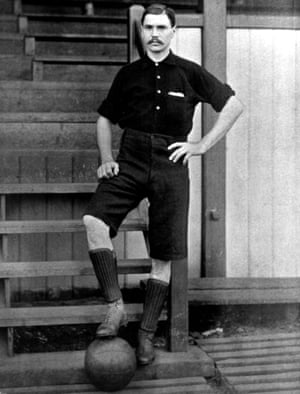 Arsenal's Joe Powell, pictured circa 1895