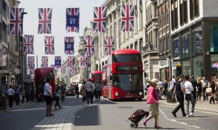 Oxford Street on 9 June 2016.