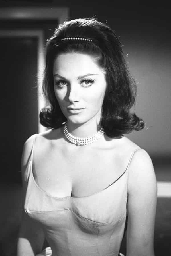 Jackie Collins in The Saint on TV in 1963.