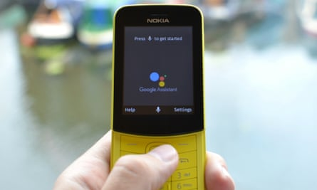 Even the Nokia 8110 4G has Google's Assistant and Maps app installed.