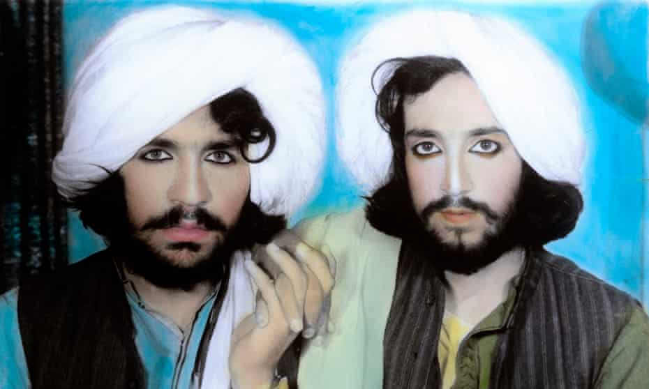 One of Thomas Dworzak's images of Taliban fighters.
